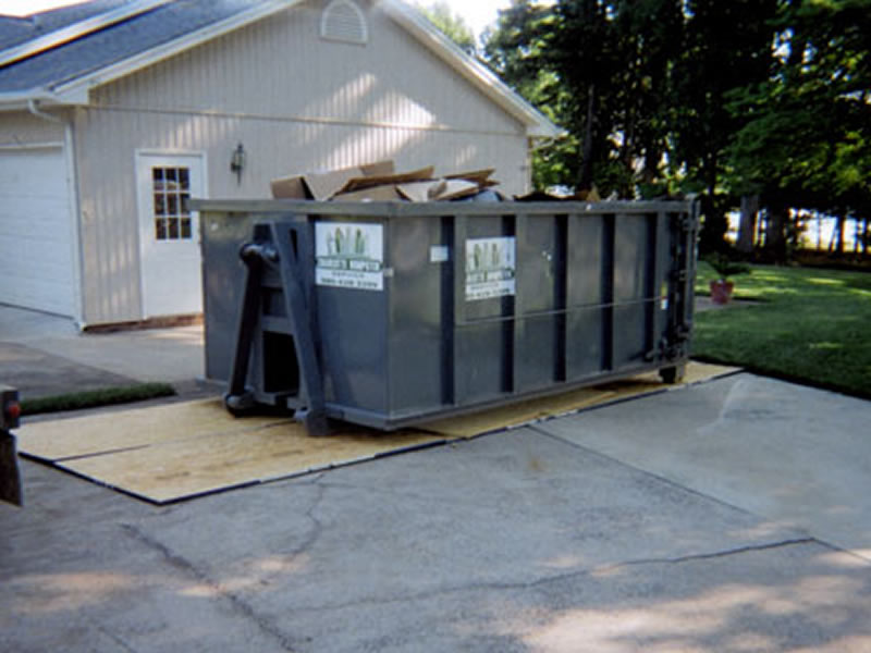 containers for waste removal North Carolina