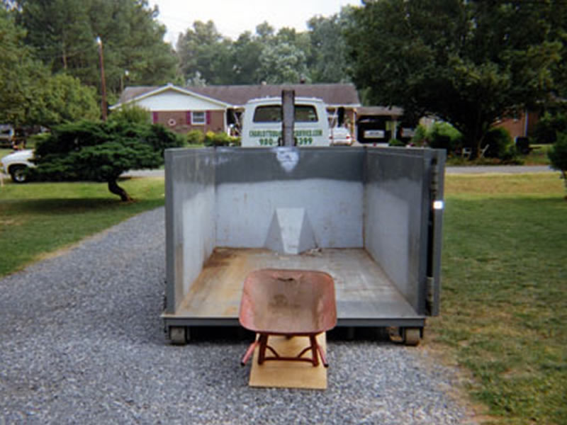 rental dumpster containers
