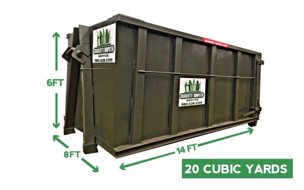 20 yard dumpster rental charlotte