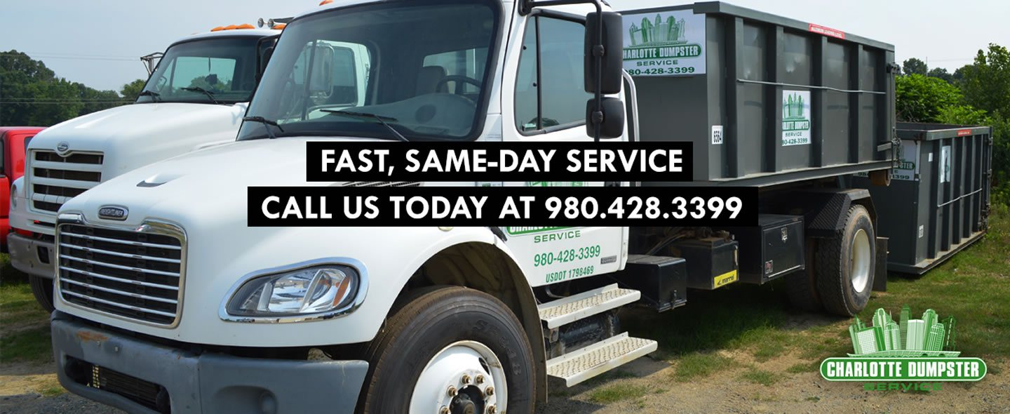 Fast, Same-day Service; Call Us Today! 980-428-3399